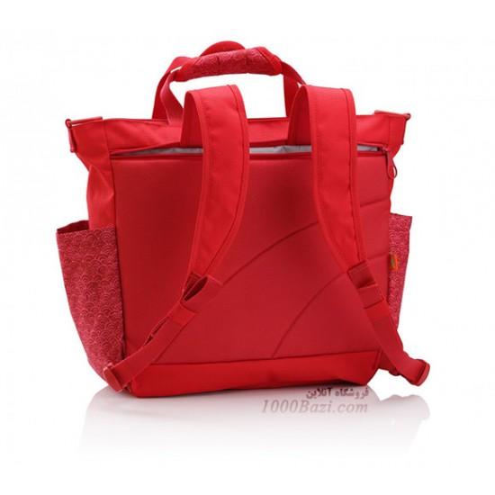کیف لوازم نوزاد اوکی داگ قرمز Okiedog Sakawa Sumo