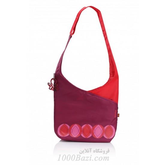 کیف لوازم نوزاد مدل آب نبات رنگ بنفش Okiedog Candy Pop