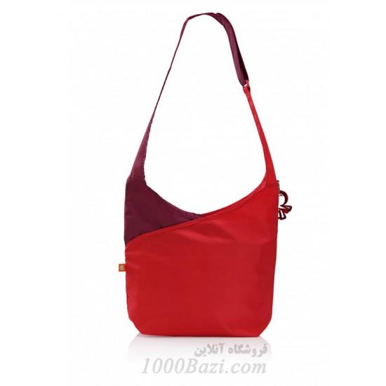 کیف لوازم نوزاد مدل آب نبات رنگ قرمز Okiedog Candy Pop