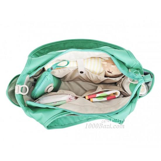 کیف لوازم نوزاد اوکی داگ سبز Okiedog Khanda