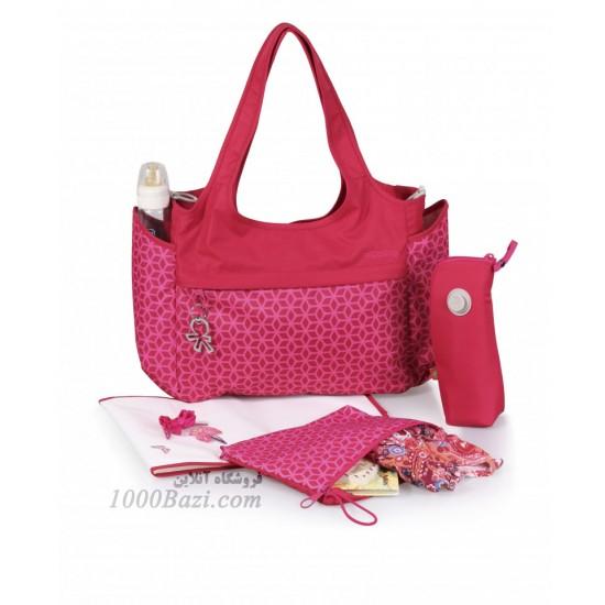 کیف لوازم نوزاد اوکی داگ قرمز Okiedog Khanda