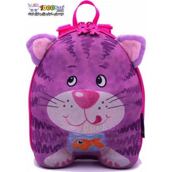 کوله پشتی بچه گانه اوکی داگ مدل گربه Okiedog Cat