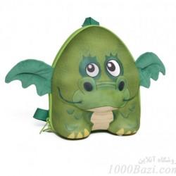 کوله پشتی بچه گانه اوکی داگ مدل اژدها Okiedog Dragon