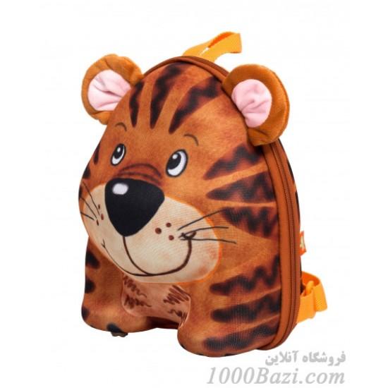 کوله پشتی بچه گانه اوکی داگ مدل ببر Okiedog Tiger