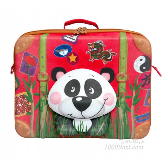 چمدان بچه گانه اوکی داگ مدل پاندا Okiedog
