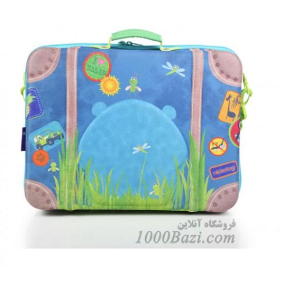 چمدان بچه گانه اوکی داگ مدل اسب آبی Okiedog