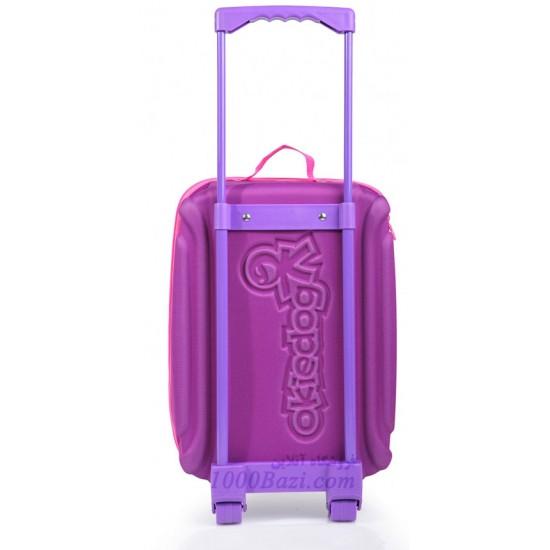 چمدان چرخ دار بزرگ طرح جغد اوکی داگ Okiedog