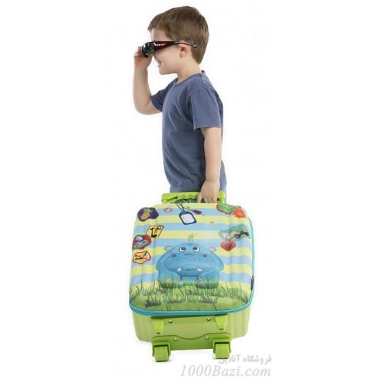 چمدان چرخ دار بزرگ طرح اسب آبی اوکی داگ Okiedog
