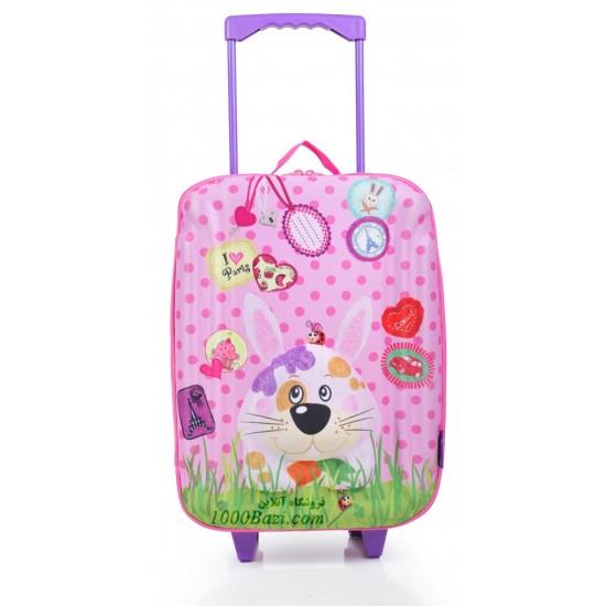چمدان چرخ دار بزرگ طرح خرگوش اوکی داگ Okiedog