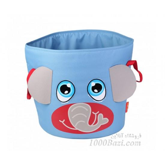 سطل اتاق کودک اوکی داگ طرح فیل Okiedog