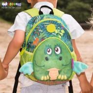 کوله پشتی بچه گانه مهدکودک طرح اژدهای سبز Okiedog