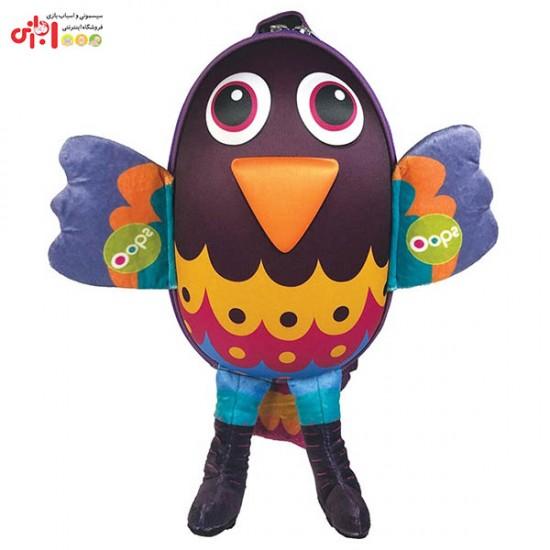 کوله عروسکی کودک طرح پرنده اوپس Oops