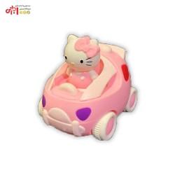ماشین قدرتی صورتی کوچک Hello Kitty