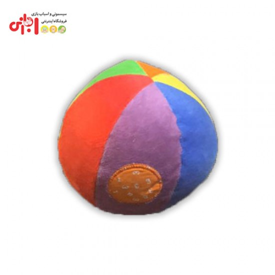 اسباب بازی توپ پولیشی جغجغه ای infantino