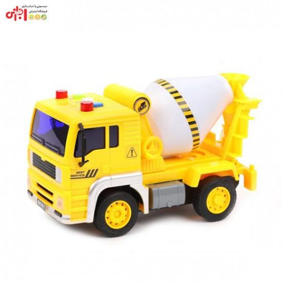 اسباب بازی کامیون چراغ دار موزیکال