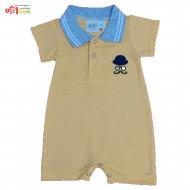 رامپر پسرانه زرد baby one