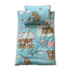 سرویس سه تکه خواب نوزادی طرح خرس