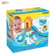 اسباب بازی سرسره خرس های قطبی حمام تامی Tomy