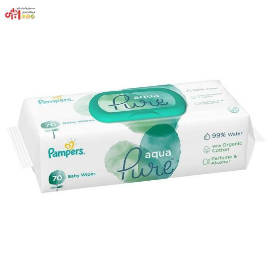 دستمال مرطوب درب دار 70 عددی پریما پمپرز Prima Pampers