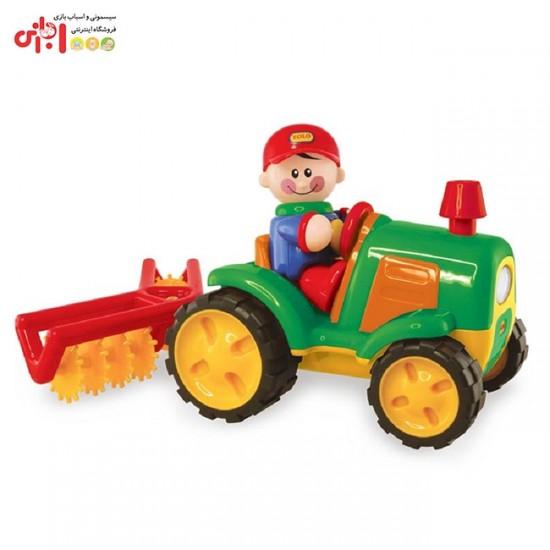 اسباب بازی تراکتور مزرعه تولو TOLO