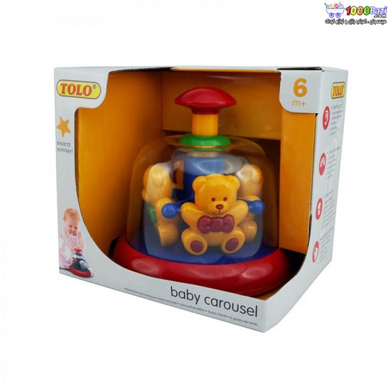 اسباب بازی چرخ و فلک خرس تدی تولو tolo