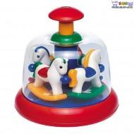 اسباب بازی کودک چرخ و فلک پونی Tolo