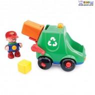 اسباب بازی کامیون زباله تولو tolo