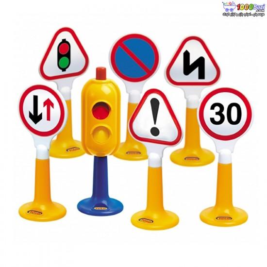 اسباب بازی علایم راهنمایی و رانندگی تولو