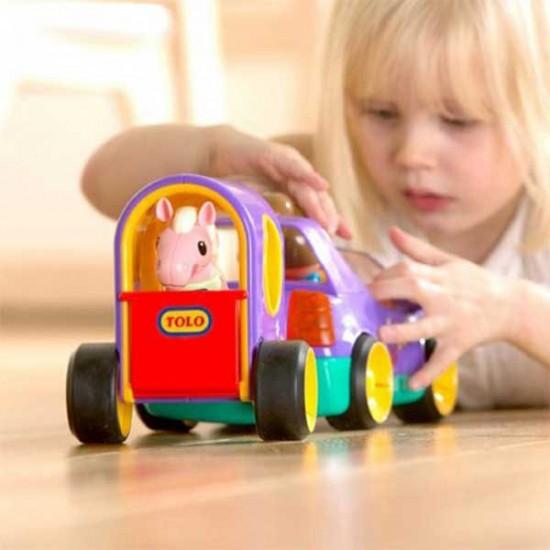 ماشین یدک کش دختر تولو tolo