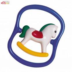 اسباب بازی جغجغه اسب سفید تولو tolo