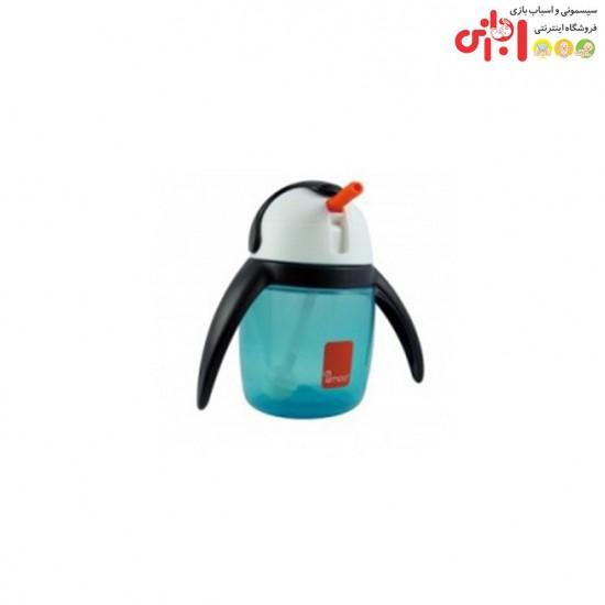 ليوان-آبميوه-خوري360-ميل-طرح-پنگوِین-u-cool