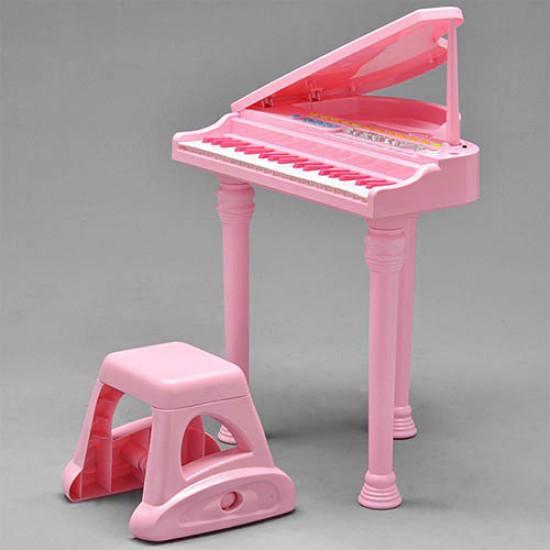 ست پیانو و میکروفون صورتی وین فان Winfun