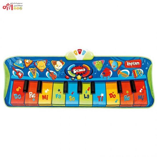 اسباب بازی پیانو فرشی موزیکال کودک winfun