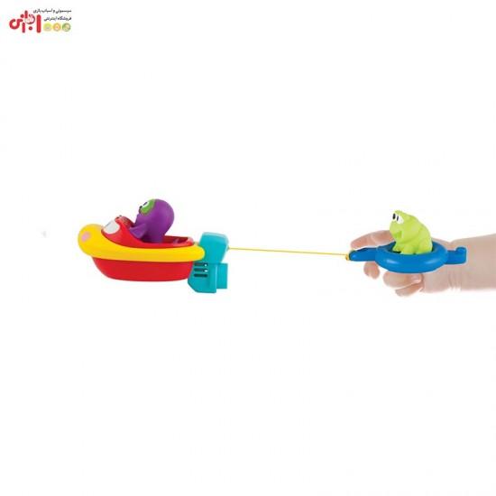 اسباب بازی حمام کودک طرح قایق کششی Winfun