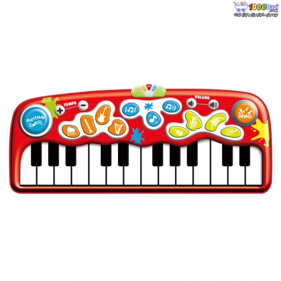 پیانو فرشی قرمز 24 کلید وین فان Winfun