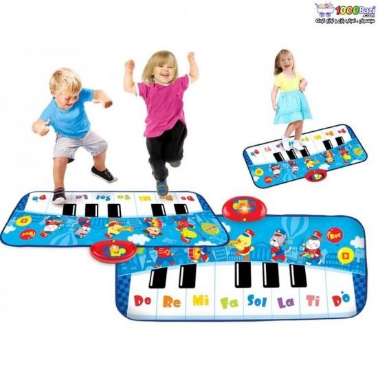 پیانو-فرشی-آبی-24-کلید-وین-فان