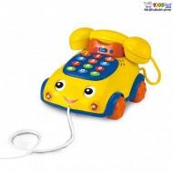 اسباب بازی تلفن چرخ دار کشیدنی Winfun