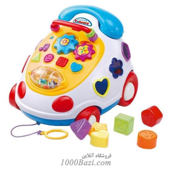 اسباب بازی تلفن پازل دار موزیکال آموزشی BabyMix