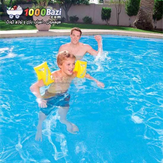 بازوبند شنا زرد Best way