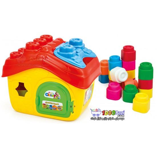 اسباب بازی پازل خانه کودک Clementoni