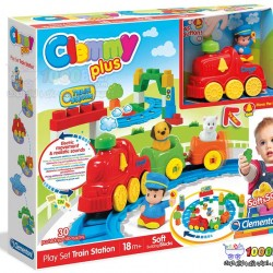 اسباب بازی قطار و ریل 30 تکه Clementoni