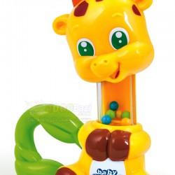 اسباب بازی جغجغه زرافه Clementoni