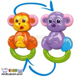 اسباب بازی میمون گردن چرخشی Clementoni