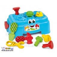 اسباب بازی میز ابزار Clementoni