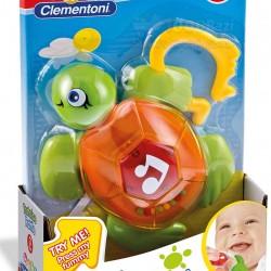 اسباب بازی آویز جغجغه لاک پشت Clementoni