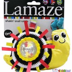اسباب بازی جغجغه متحرک حلزون Lamaze
