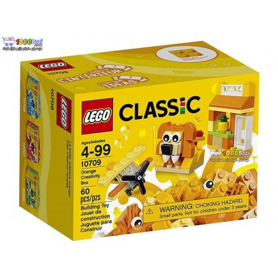 لگو سری Chassic مدل Orange Creativity Box