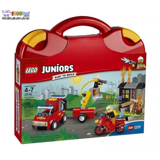 لگو سری Juniors مدل Fire Patrol Suitcase