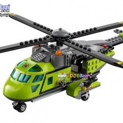 لگو سری City مدل Volcano Supply Helicopter