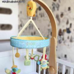 آویز تخت چوبی مجلل Little Bird